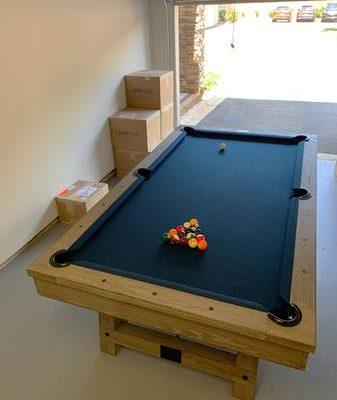 Plank & Hide Pool Table