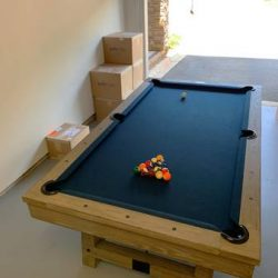 Plank & Hide Pool Table