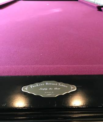 ProLine Billards Table