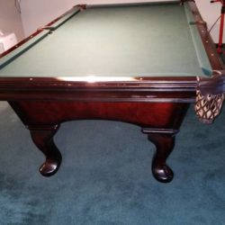 8' Olhausen Slate Pool Table (SOLD)