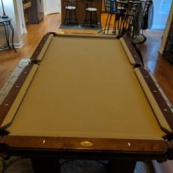 8' Slate Connelly Pool Table