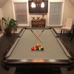 Pool Table Gray 8'