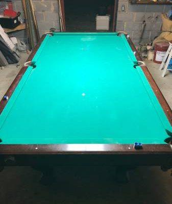 Old Slate Pool Table