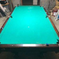 Old Slate Pool Table