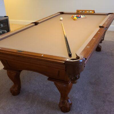 American Heritage Billiards 8ft slate table